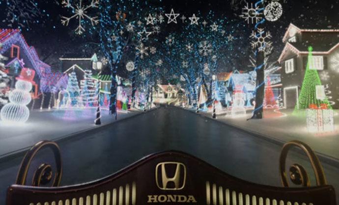 Honda Candy Cane Lane VR
